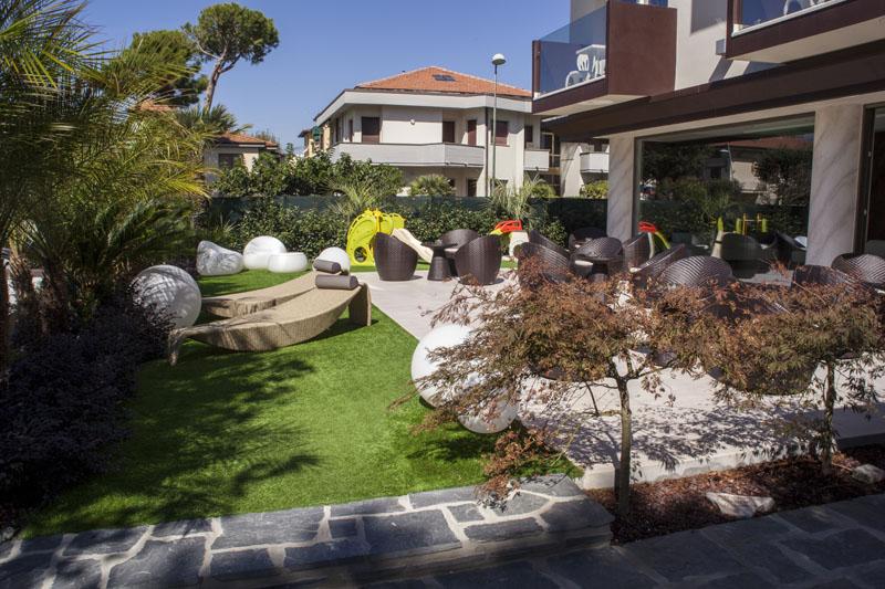 Il Giardino Salotto Hotel Pineta Mare Hotel A Lido Di